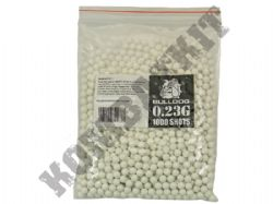 1000 x 6mm x 23g White Polished Airsoft BB Gun Pellets in Bag